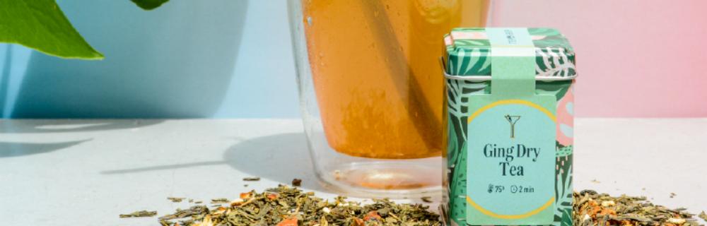 Drinks com chá: Ging Dry Tea