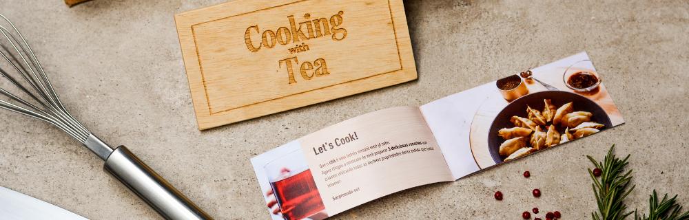 7 dicas para cozinhar com chá