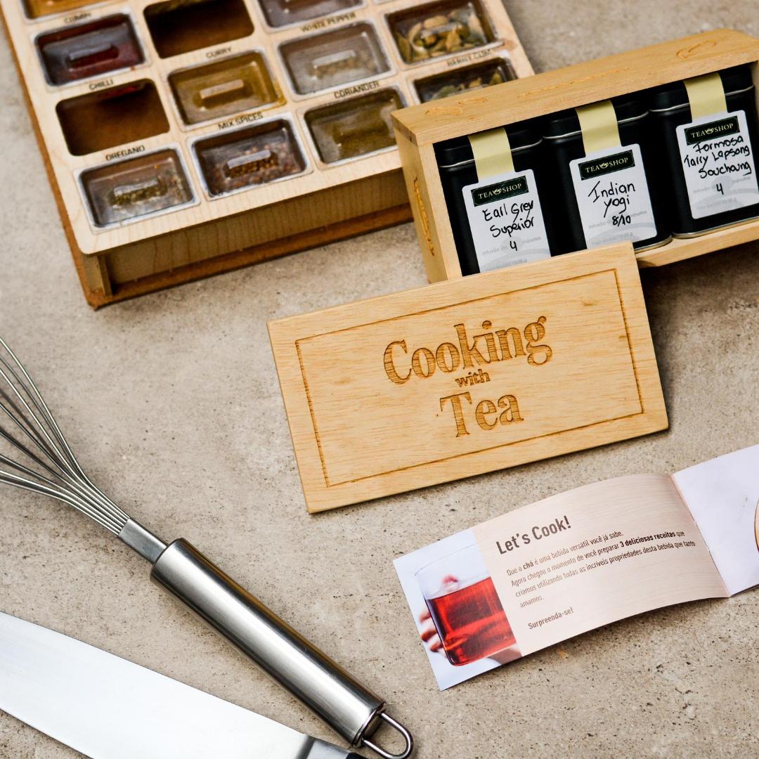 Imagem - 7 dicas para cozinhar com chá