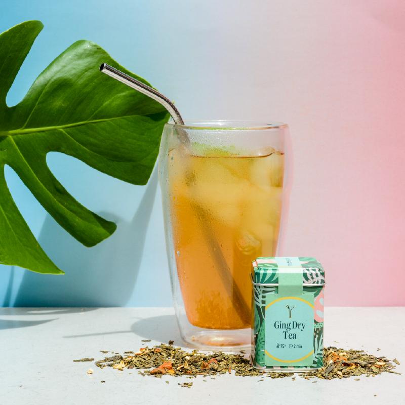Imagem - Drinks com chá: Ging Dry Tea