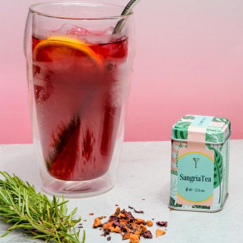 Imagem - Drinks com chá: Sangria Tea