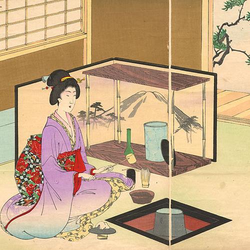 Imagem - A cerimônia do chá japonês