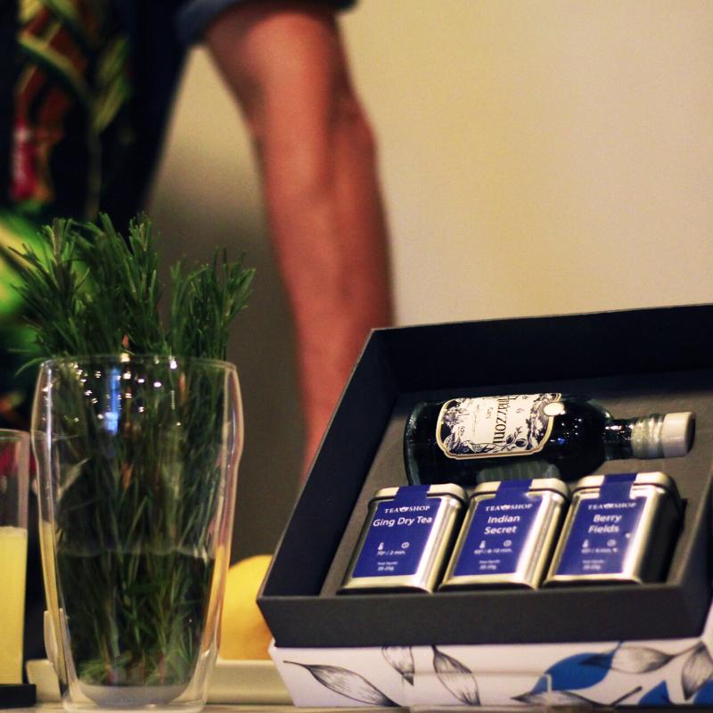 Imagem - Tea Shop lança Tea & Gin com workshops pelo Brasil
