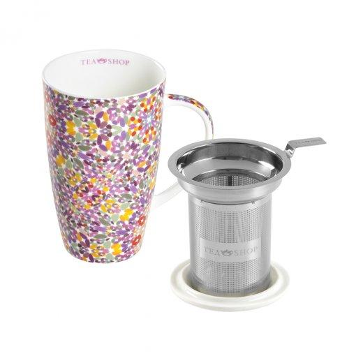 Caneca de Porcelana Mug Emmeline Calcutá - Tea Shop