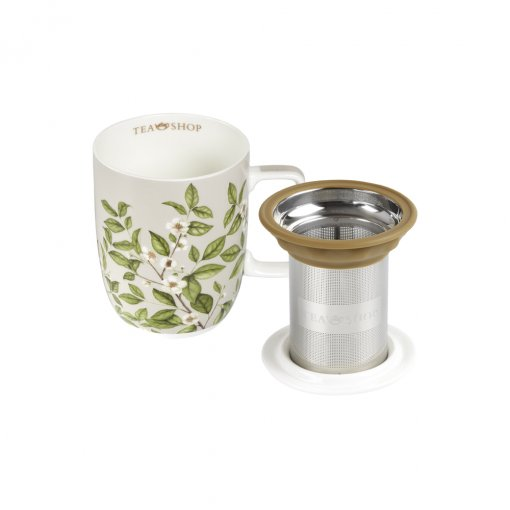 Caneca de Porcelana MUG HARMONY CAMELIA SINENSIS - Tea Shop