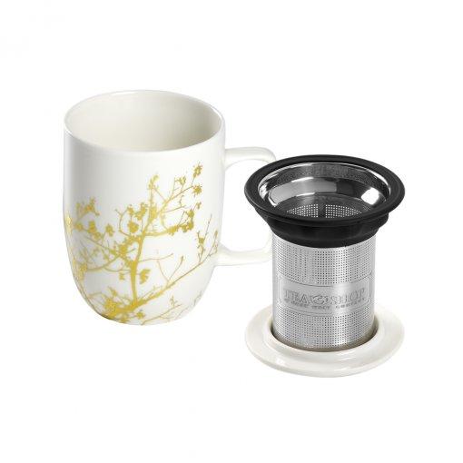 Caneca de porcelana Mug Harmony Golden Tree
