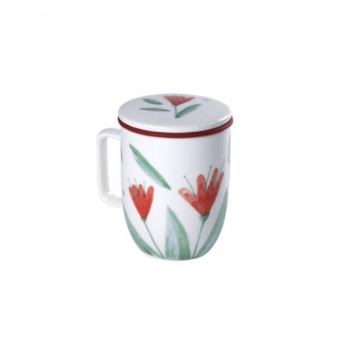 Caneca de Porcelana Mug Harmony Harmony Flowery - Tea Shop