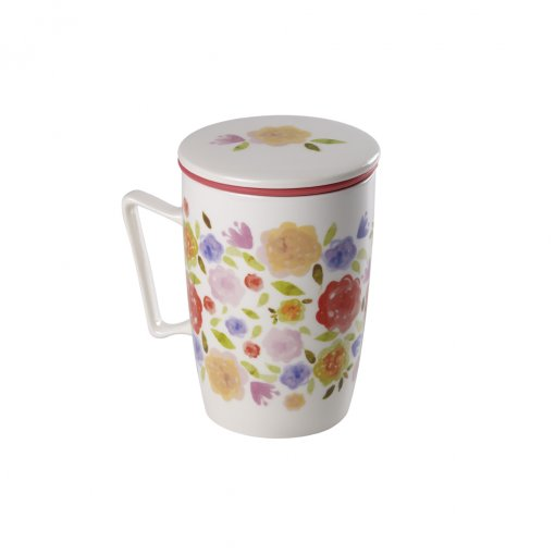 Caneca de Porcelana Mug Super Jumbo Belle - Tea Shop