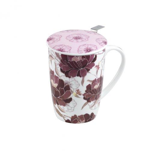 Caneca de Porcelana Mug Super Jumbo Dahlia - Tea Shop