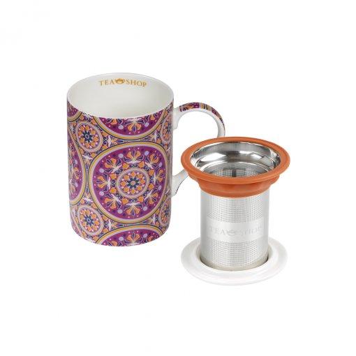 CANECA MUG CLASSIC MANDALA - TEA SHOP