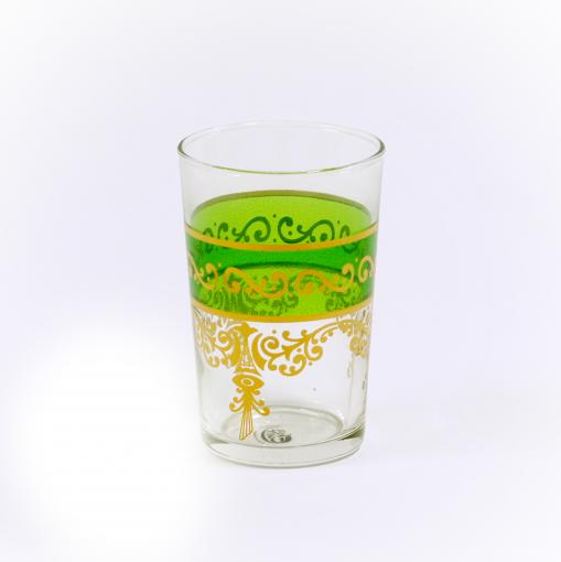 Copo Cristal Árabe Verde