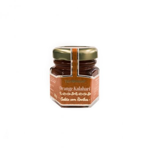 Geleia com chá - Rooibos Orange Kalahari