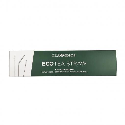 Kit Canudos Ecológicos Ecotea Straw - Tea Shop