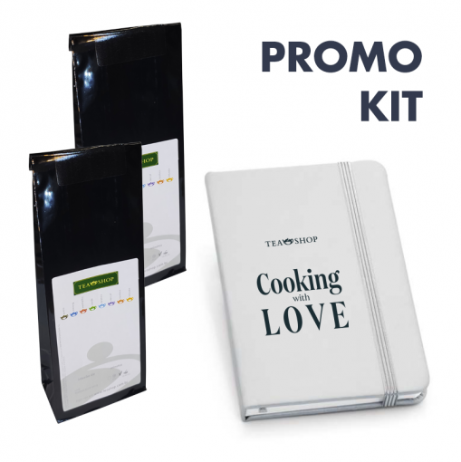 Kit Cozinhando com Chá: Doces, Geleias & compotas - Earl Grey Special + Blueberry Muffin
