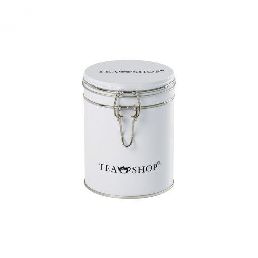 Lata para armazenamento de chá redonda White (Branca) - Tea Shop