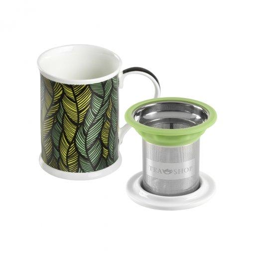 Caneca de Porcelana Mug Benazir Mali - Tea Shop