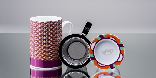 Mug Cylinder Peacock