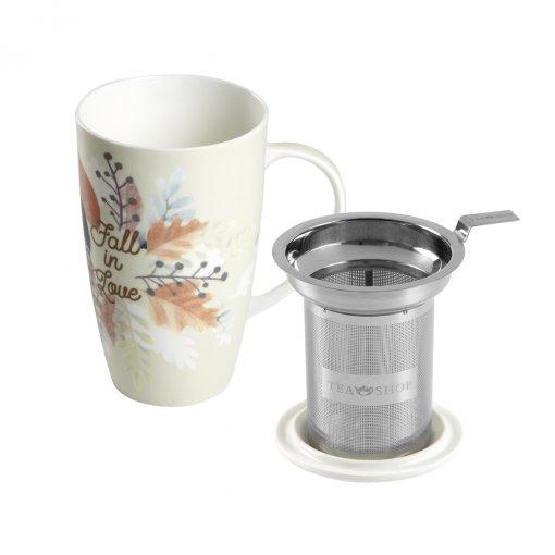 Caneca de Porcelana Mug Emmeline Fall in Love - Tea Shop