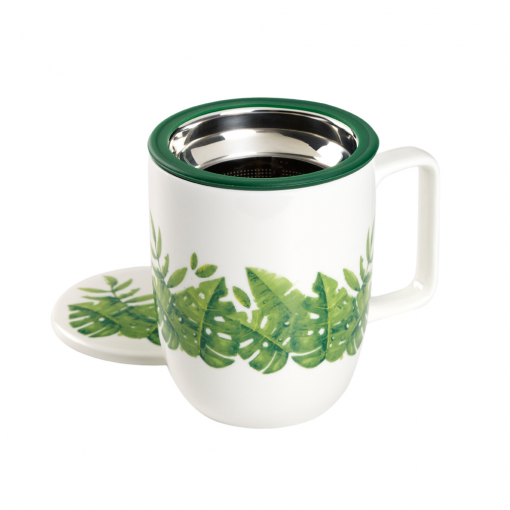 Mug Harmony Exotic Leaves