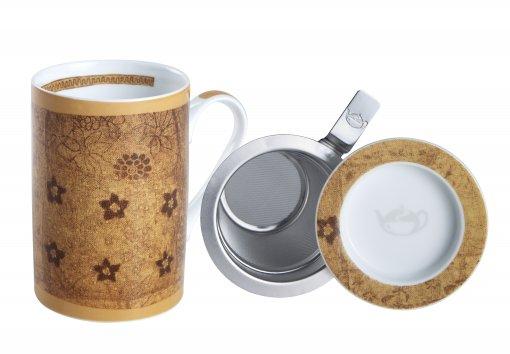 Mug Cylinder Rajasthan Laranja
