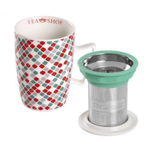 Mug Super Jumbo Moroccan Red- Tea Shop