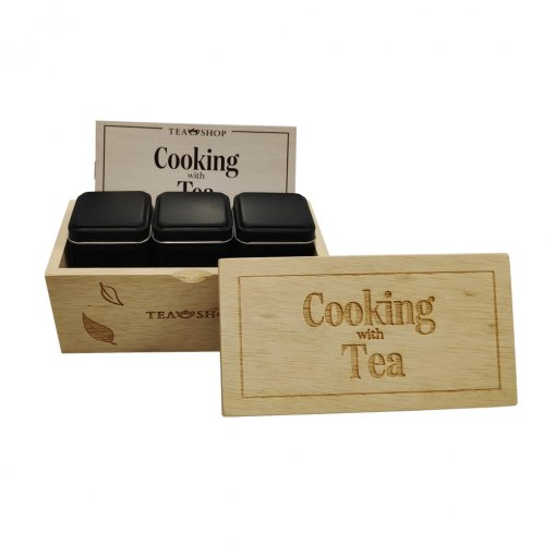 Set Especial - Cooking With Tea - Tea Shop