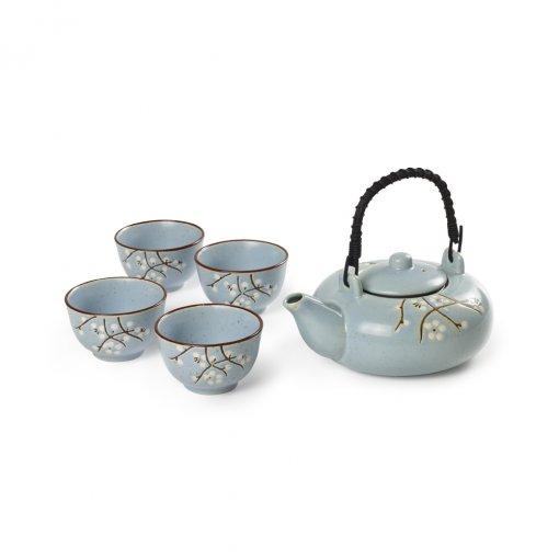 Set Sakura Blue - Tea Shop