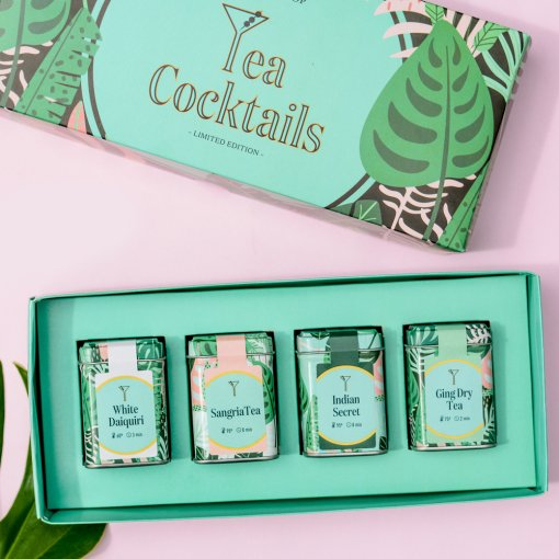 SET Tea Cocktails - TEA SHOP