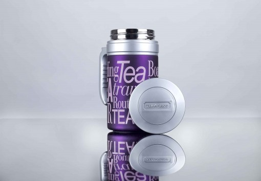 Travel Tea Bright purple