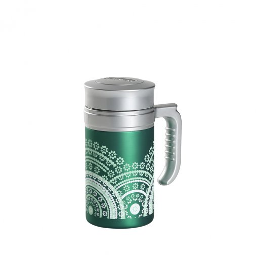Travel Tea Mandala Green