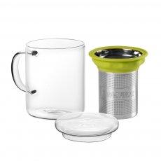 Imagem - Caneca de Vidro Mug All In One Green - Tea Shop