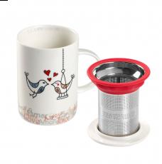 Imagem - Caneca de porcelana Mug Classic Birds
