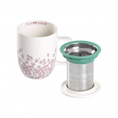 Caneca de Porcelana Mug Harmony Early Sakura - Tea Shop