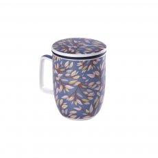 Imagem - Caneca de Porcelana Mug Harmony Japan Grey - Tea Shop