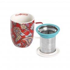 Caneca de Porcelana Mug Harmony Kambodia - Tea Shop