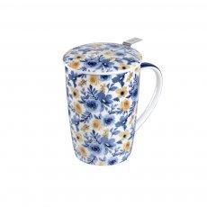 Imagem - Caneca de Porcelana MUG SUPER JUMBO GOLD FLOWER - Tea Shop
