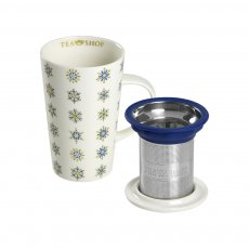 Caneca de Porcelana Mug  Winter Wonderland- Tea Shop