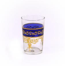 Copo Cristal Árabe Azul