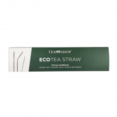 Kit Canudos Ecológicos Ecotea Straw - Tea Shop