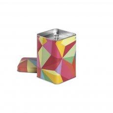 Lata Cubist para Armazenar Chás 100g - Tea Shop