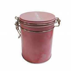 Lata Dream Rosa para armazenar chás