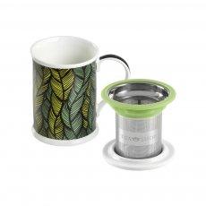 Imagem - Caneca de Porcelana Mug Benazir Mali - Tea Shop