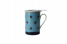Mug Cylinder Dente de Leão Azul
