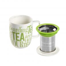 Caneca de porcelana Mug Harmony Graffiti Verde