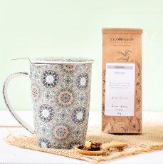 Imagem - Mug Super Jumbo Henna + 100g de Yoga Tea + Medida Tegaki (grátis)