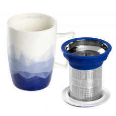 Caneca de porcelana Mug Super Jumbo Mykonos
