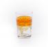 Copo Cristal Árabe Laranja