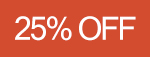 25% de desconto