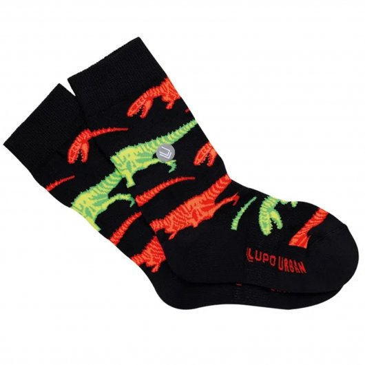 Meia Infantil Dinossauros Lupo Urban 16850-006