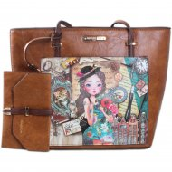 Imagem - Bolsa Emily Travels Europe Nicole Lee Set15011 cód: 138434